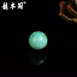 原矿高瓷中蓝绿松石 13mm圆珠 配饰单珠 sbj-4342-15