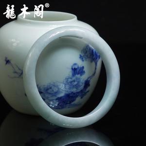 缅甸老坑翡翠 57# 天然A货糯种 女士手镯 fcs-099 特价