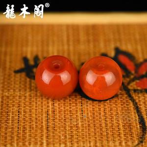 九口南红  苹果珠对珠 配饰珠 sbj-4939-9