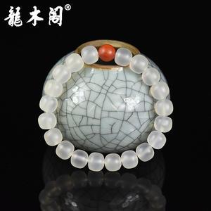 凉山九口荔枝冻 8.5*9.5mm老形珠 佛珠手串 sl-8099-1