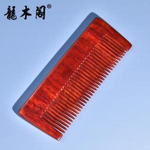 小叶紫檀高密水波老料 精工细作木梳 礼增佳品 mbj-3772