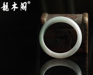 缅甸老坑翡翠 55#天然A货糯种紫罗兰 宽管女士手镯 fcs-031-8